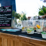 Picture of drinks available